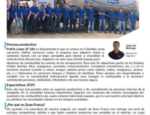 ¡Somos usuarios del mes de Zona Franca La Cayena!